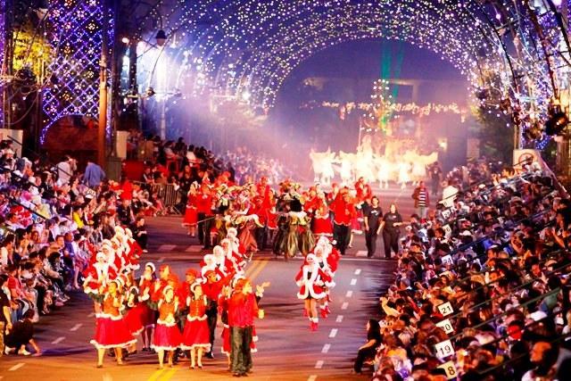 grande desfile de natal gramado