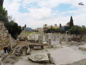 ágora romana atenas