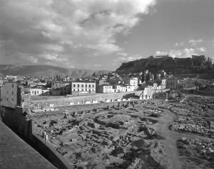 stoa de attalos em 1952