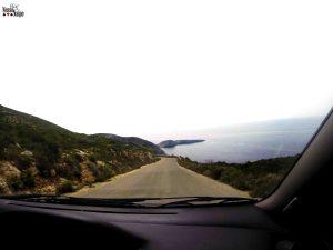A certeza de que estávamos indo na direção certa aparecia sempre que víamos o mar do nosso lado direito, hehehe.