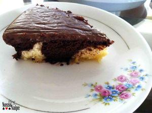 Fati do bolo mescado da nossa degustação. Delícia!!
