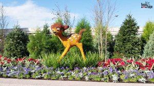 No Flower and Garden Festival esse parque fica cheio de topiárias lindas!