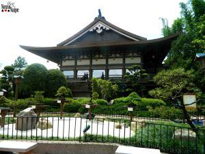Varanda do Teppan Edo e Tokyo Dining.