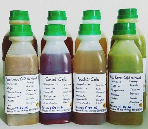 São muitas opções de sucos e suchás. Foto: Todo Dia Funcional.