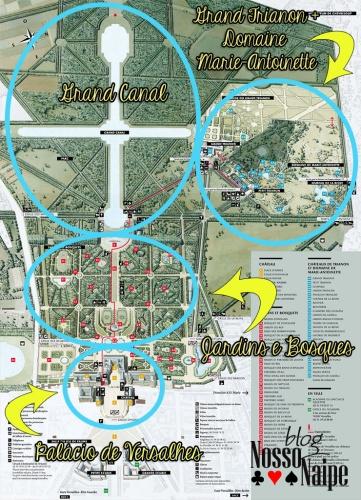 mapa versalhes
