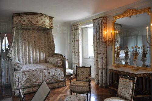 Quarto de Maria Antonieta no Petit Trianon.