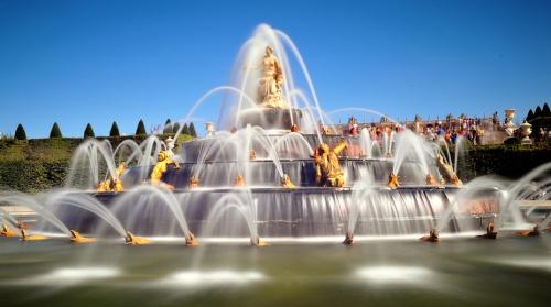 Jardin du chateau de Versailles: les grandes eaux