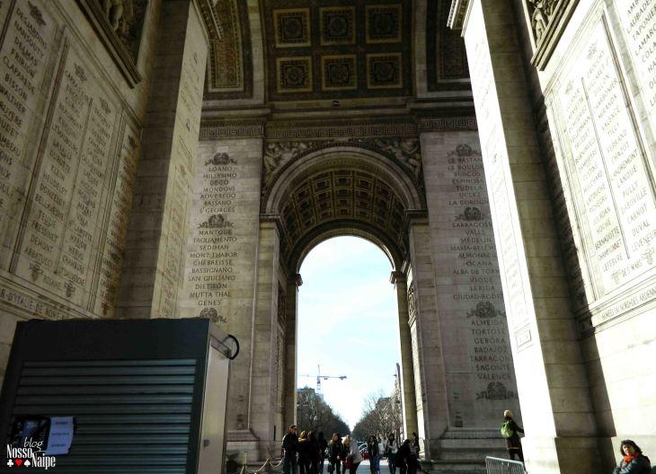 Embaixo do Arco.